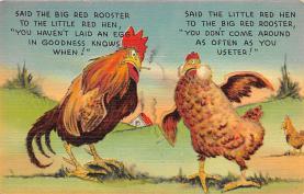 top007751 - Chicken Post Card