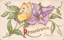 top007771 - Butterflies Post Card, Butterfly Postcard