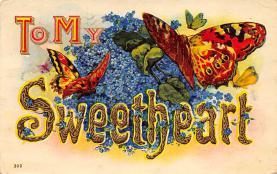 top007789 - Butterflies Post Card, Butterfly Postcard