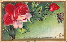 top007801 - Butterflies Post Card, Butterfly Postcard