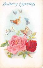 top007805 - Butterflies Post Card, Butterfly Postcard