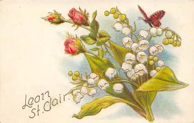 top007819 - Butterflies Post Card, Butterfly Postcard
