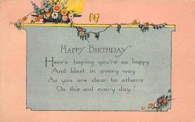 top007833 - Butterflies Post Card, Butterfly Postcard