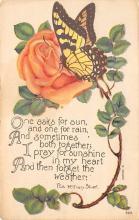top007835 - Butterflies Post Card, Butterfly Postcard