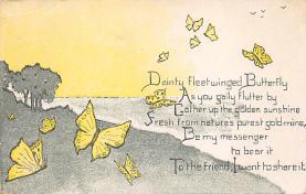 top007843 - Butterflies Post Card, Butterfly Postcard