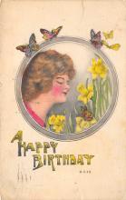 top007855 - Butterflies Post Card, Butterfly Postcard