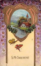 top007873 - Butterflies Post Card, Butterfly Postcard