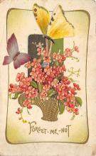 top007877 - Butterflies Post Card, Butterfly Postcard