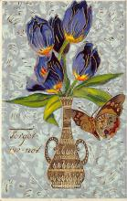 top007881 - Butterflies Post Card, Butterfly Postcard