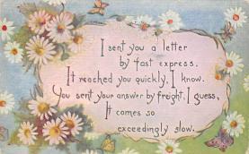 top007897 - Butterflies Post Card, Butterfly Postcard