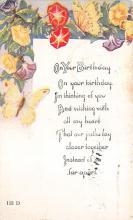top007901 - Butterflies Post Card, Butterfly Postcard