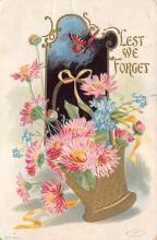 top007911 - Butterflies Post Card, Butterfly Postcard