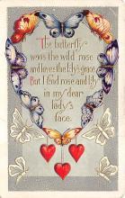top007923 - Butterflies Post Card, Butterfly Postcard