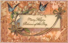 top007935 - Butterflies Post Card, Butterfly Postcard