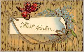 top007943 - Butterflies Post Card, Butterfly Postcard