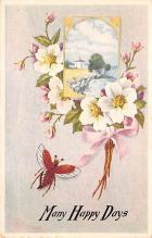 top007973 - Butterflies Post Card, Butterfly Postcard