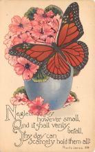 top007981 - Butterflies Post Card, Butterfly Postcard