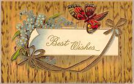 top007989 - Butterflies Post Card, Butterfly Postcard