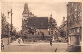 top014865 - Judaic, Jewish Synagogue Post Card