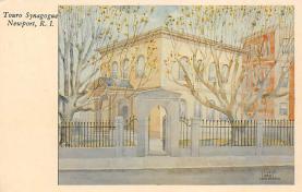top014881 - Judaic, Jewish Synagogue Post Card