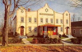 top014887 - Judaic, Jewish Synagogue Post Card