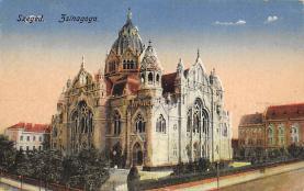 top014907 - Judaic, Jewish Synagogue Post Card