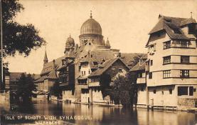 top014917 - Judaic, Jewish Synagogue Post Card