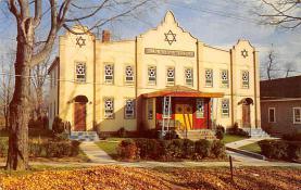 top014925 - Judaic, Jewish Synagogue Post Card