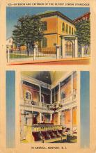 top014931 - Judaic, Jewish Synagogue Post Card