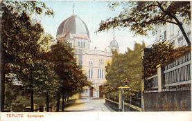 top014935 - Judaic, Jewish Synagogue Post Card