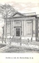 top014947 - Judaic, Jewish Synagogue Post Card