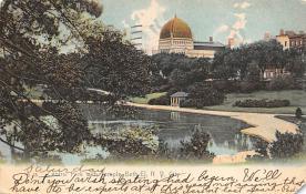 top014949 - Judaic, Jewish Synagogue Post Card