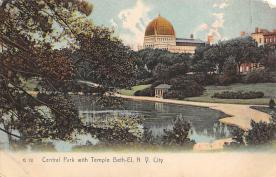top014953 - Judaic, Jewish Synagogue Post Card