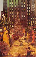 top015471 - Christmas Trees Post Card
