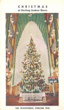 top015545 - Christmas Trees Post Card