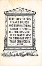 top016107 - Cemetaries Cemetery Post Card