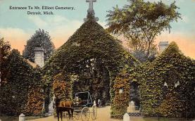 top016155 - Cemetaries Cemetery Post Card