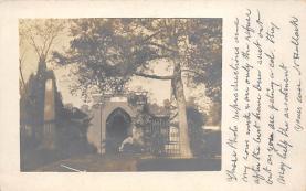 top016233 - Cemetaries Cemetery Post Card