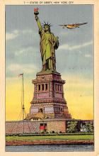 top016639 - Statue of Liberty Post Card