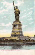 top016645 - Statue of Liberty Post Card