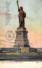 top016647 - Statue of Liberty Post Card