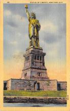 top016649 - Statue of Liberty Post Card