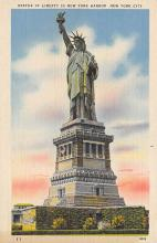 top016671 - Statue of Liberty Post Card
