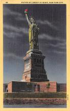 top016679 - Statue of Liberty Post Card