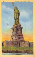 top016685 - Statue of Liberty Post Card