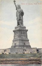 top016705 - Statue of Liberty Post Card