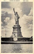 top016709 - Statue of Liberty Post Card