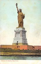 top016711 - Statue of Liberty Post Card