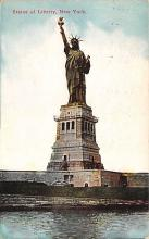 top016717 - Statue of Liberty Post Card