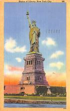 top016719 - Statue of Liberty Post Card